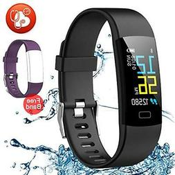 Pedometers Juboury Fitness Tracker HR, Activity Watch Heart