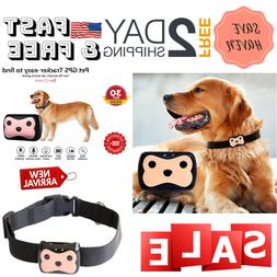 Pet GPS Collar Tracker, Real Time Locator & Activity Monitor