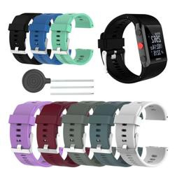 For Polar V800 Silicone Replacement Wrist Band Strap Sport F