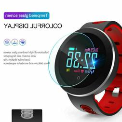 Q8 Bluetooth Smart Watch Fitness Heart Rate Tracker Oxygen B