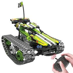 BIRANCO. Remote Control Car for Boys - RC Tracked Racer Buil