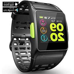 Running GPS Units Fitness Tracker Watch, Activity With Heart