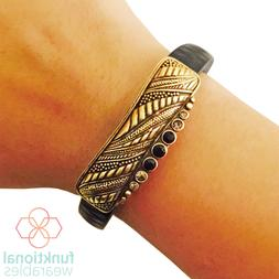 SALE Gold Charm to Accessorize Fitbit or Other Fitness Activ