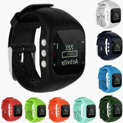 Silicone Wrist Bracelet Sport Band Strap For Polar A300 Fitn