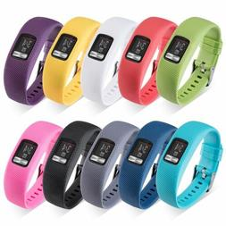 Silicone Wrist Watch Band Strap Bracelet For Garmin VivoFit
