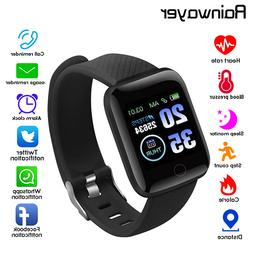 smart bracelet watch waterproof blood pressure measurement