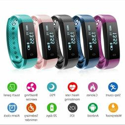 Smart Watch Bracelet Sport Fitness Activity Tracker Heart Ra