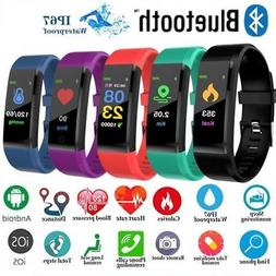 Smart Watch Bracelet Wristband Heart Rate Monitor Blood Pres