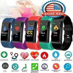 Smart Watch Fitness Activity Tracker Step Fit Bluetooth Spor