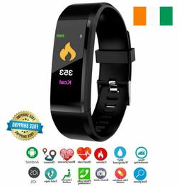 Smart Watch Fitness Tracker Fitbit Bluetooth Step Caolorie S
