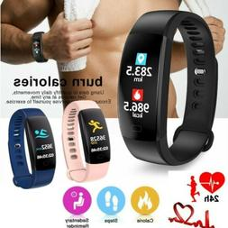 Smart Watch Heart Rate Fitness Pedometer Bracelet Sports Act