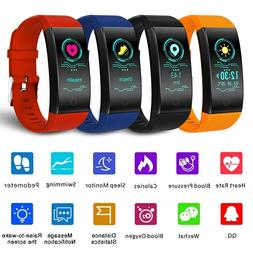 Smart Watch Sports Fitness Activity Heart Rate Tracker Blood