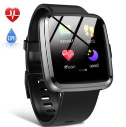 Hommie Smart Watch Waterproof Activity Tracker Heart Rate Mo