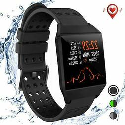 Smart Watch with All-Day Heart Rate Activity Tracking,Blueto