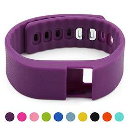 Soft Silicone Band for Teslasz Fitness Tracker in 6 Colors