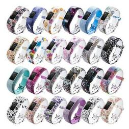 Soft Silicone Watch Strap Band For Garmin VivoFit JR/JR2 Jun