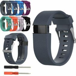 Soft Silicone Wrist Band Strap Replacement for Fitbit Charge