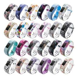 Soft Watch Band Strap Silicone For Garmin VivoFit JR/JR2 Jun