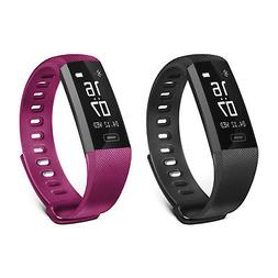 Sports Activity Tracker Heart Rate Fitness Pedometer Bracele