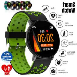 Sports Smart Watch Wristband Blood Pressure Heart Rate Brace