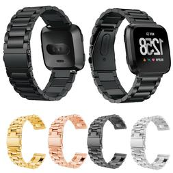 Stainless Steel Watch Band Strap Wristband Bracelet Loop for