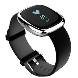 Stainless Steel, Fitness Tracker, Blood Pressure Monitor Act
