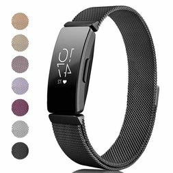 US Magnetic Milanese Loop Metal Watch Band Strap For fitbit