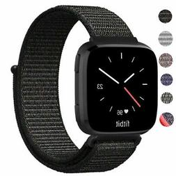 US Soft Nylon Loop Strap Bracelet Sport Style Watch Band For