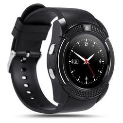 V8 Smart Watch Phone Touch Bluetooth Wrist Watch Fitness Tra
