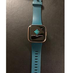 Fitbit Versa 2 Fitness Tracker - Pebble Only, Rose Gold - Pr