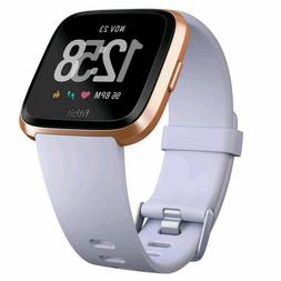 Fitbit Versa Fitness Activity Tracker  Rose Gold / Periwinkl
