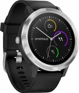 *NEW*Garmin VivoActive 3 Smartwatch - Black/Stainless Steel*