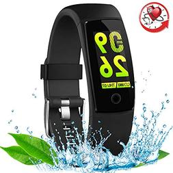 RIVERSONG Waterproof Health Tracker,Fitness Tracker Color Sc