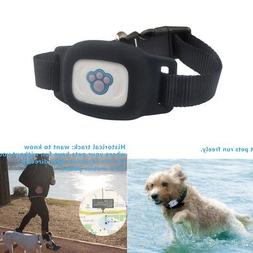 Waterproof Pet GPS Tracker Dog Security Collar Real Time Act