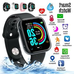 Waterproof Smart Watch Heart Rate Tracker Fitness Wristband