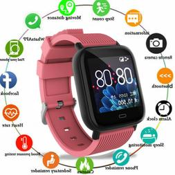 Women Smart Watch Fitness Activity Tracker For Android iOS H