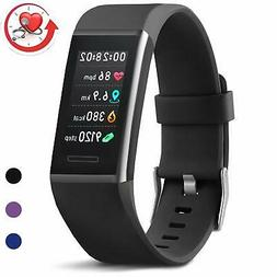 MorePro X-Core Fitness Tracker HR Waterproof Color Screen Ac