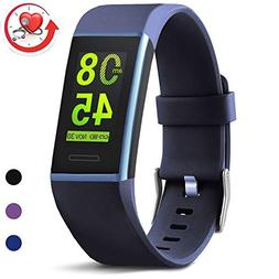 MorePro X-Core Fitness Tracker HR, Waterproof Color Screen A