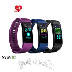 Y5 Smart Watch Sports Fitness Activity Heart Rate Tracker Bl
